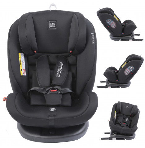 Babyauto Volta Spin 360 Spin Group 0+1/2/3 ISOFIX Car Seat - Black