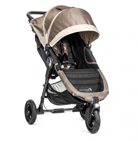 New Baby Jogger City Mini GT Single Stroller - Stone