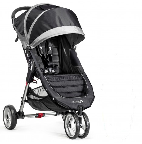 New Baby Jogger City Mini Single Stroller - Black