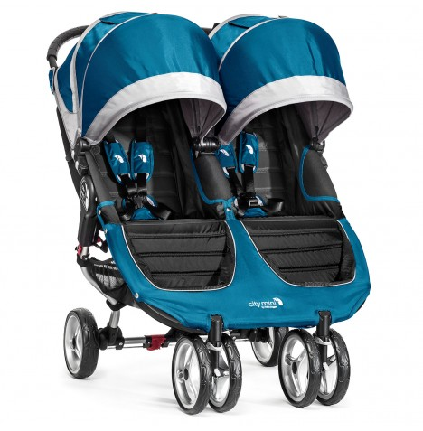 New Baby Jogger City Mini Double Stroller - Teal