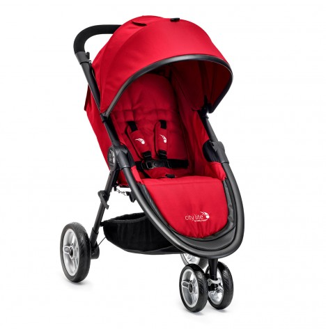 New Baby Jogger City Lite Stroller - Red