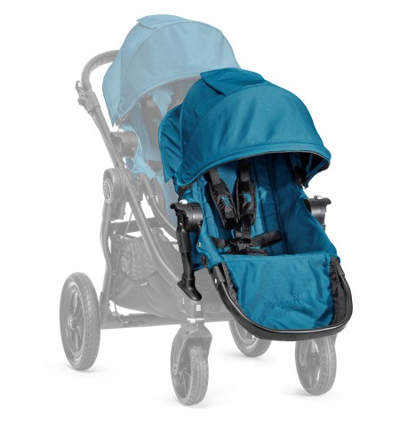 New Baby Jogger Select 2nd Seat With Adaptor - Teal