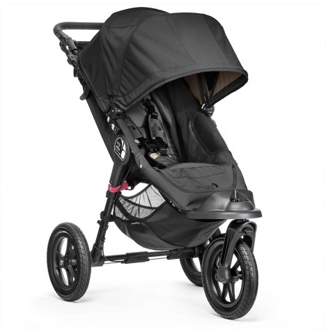 New Baby Jogger City Elite Single Stroller - Black