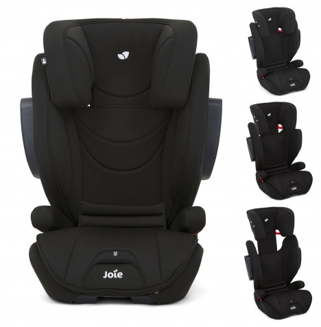 Joie Traver ISOSAFE Group 2/3 Booster Car Seat - Coal