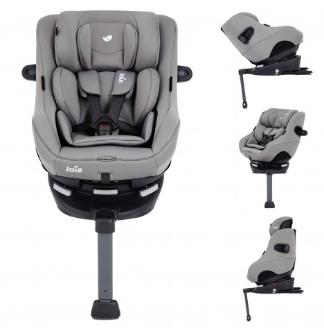 Joie Spin 360 GT Luxury Group 0+/1 ISOFIX Car Seat - Grey Flannel