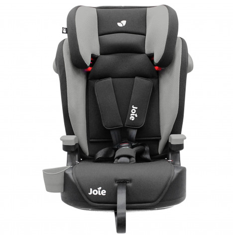 Joie Elevate Group 123 High Back Booster Car Seat - Two Tone Black