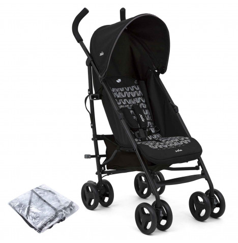 Joie Nitro Pushchair Stroller with Raincover - Waves Caviar