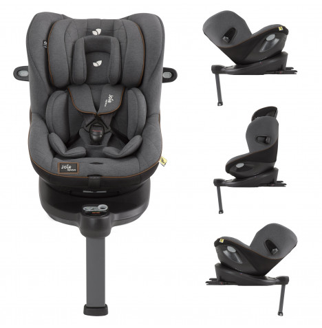 Joie Limited Edition i-Spin 360 iSize ISOFIX Group 0+/1 Car Seat - Signature Noir
