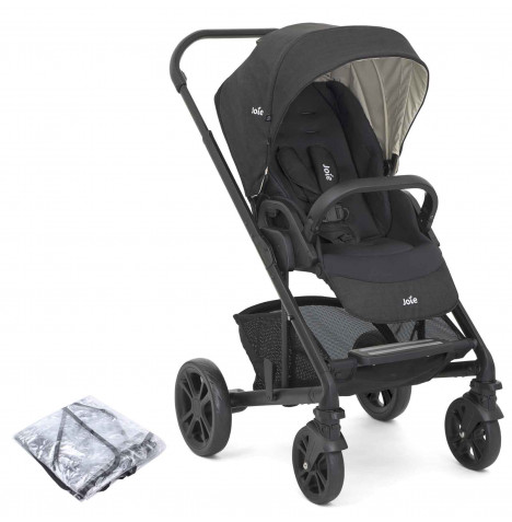 Joie Chrome Pushchair 4 Wheel Pushchair Stroller - Pavement