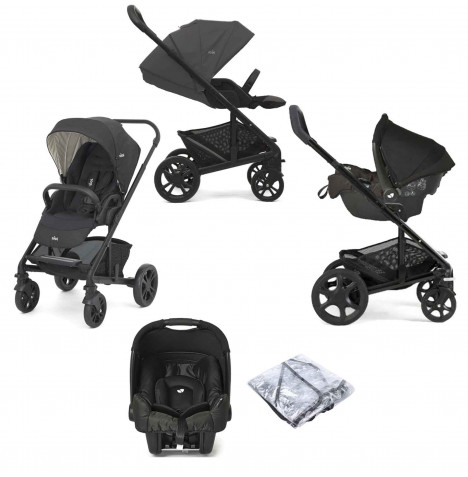 Joie Chrome (Gemm) Travel System - Pavement / Ember