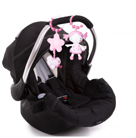 Red Kite Clip On Toys Pushchair / Car Seat - Princess Pollyanna