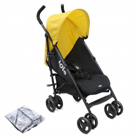 Joie Nitro Pushchair Stroller with Raincover - Yellow