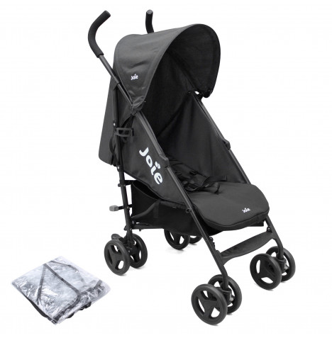Joie Nitro Pushchair Stroller with Raincover - Black