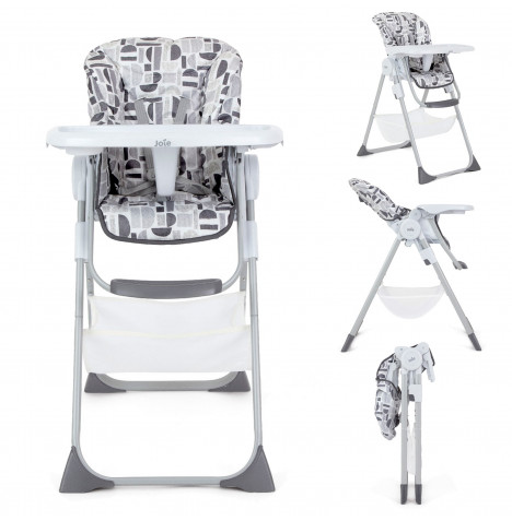 Joie Mimzy Snacker 2in1 Highchair - Logan