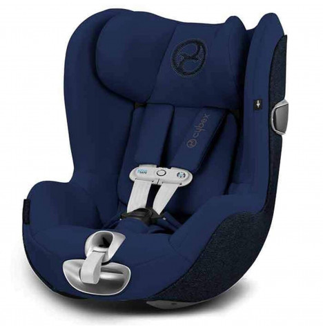 Cybex Sirona Z Platinum i-Size 360 Spin Car Seat With Sensorsafe - Midnight Blue