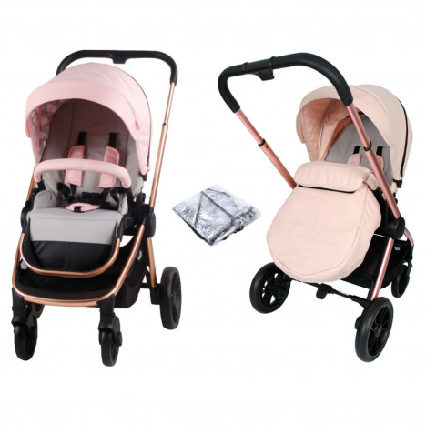 My Babiie MB400 Dreamiie Pushchair *Samantha Faiers Signature Range* - Pink Clouds