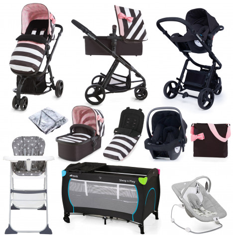 Cosatto Giggle 2 (Hold) Everything You Need Travel System Bundle - Go Lighty