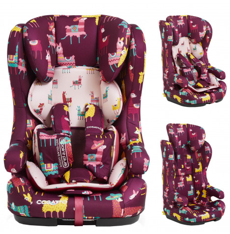 Cosatto Hubbub Group 123 (5 Point Plus) ISOFIX Car Seat - Llamarama