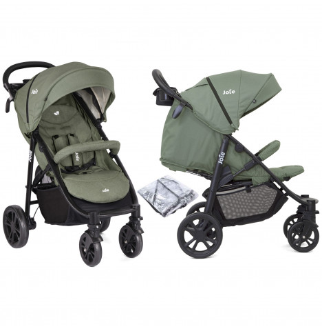 Joie Litetrax 4 Wheel Pushchair Stroller - Laurel