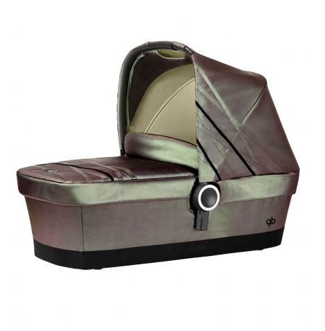 Cybex GB Platinum Ebaby Maris Moses Basket / Carrycot R - Moonglow Beige
