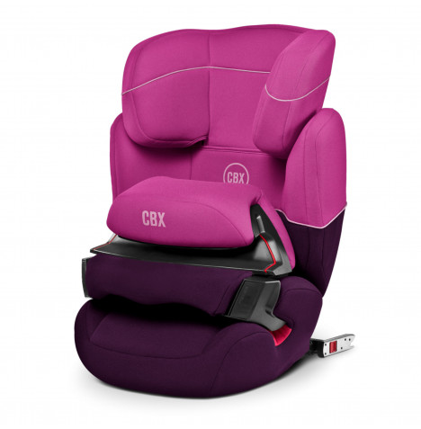 Cybex CBX Aura Fix Group 1/2/3 ISOFIX Car Seat - Purple Rain