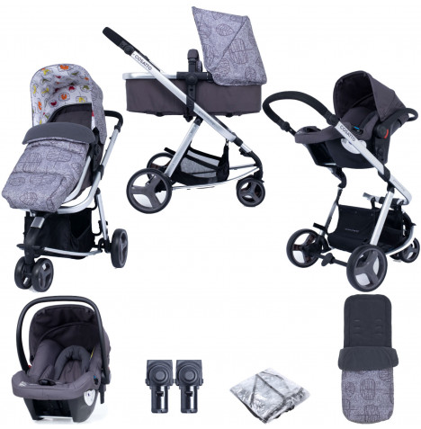 Cosatto Giggle Lite (Hold) Travel System Bundle - Dawn Chorus