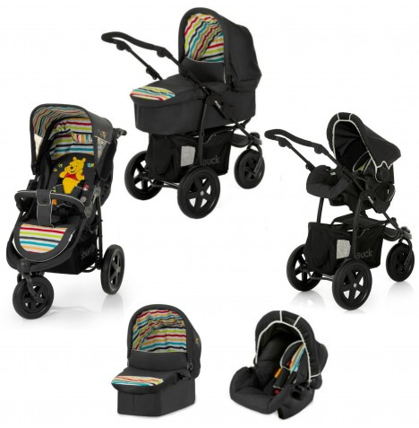 Hauck Viper Trio Set 3 in 1 Travel System - Pooh Tidy Time