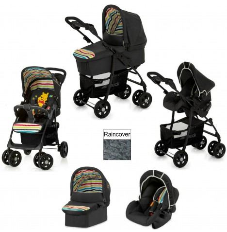 Hauck Disney Shopper Trio Set Travel System - Pooh Tidy Time