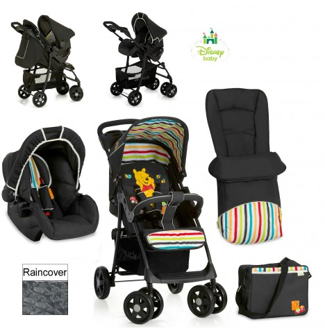 Hauck Disney Shopper Shop n Drive Travel System - Pooh Tidy Time