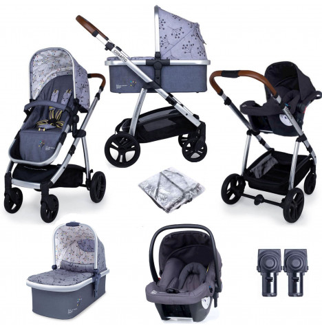 Cosatto Wow (Hold) Travel System - Hedgerow