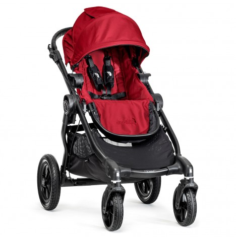 New Baby Jogger City Select Stroller - Red
