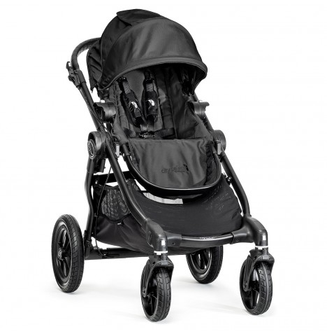 New Baby Jogger City Select Stroller - Black