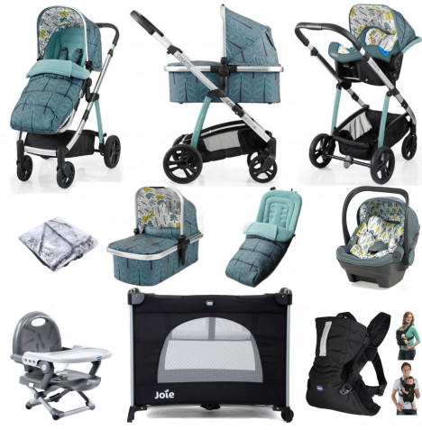 Cosatto Wow (Dock) Everything You Need Travel System Bundle - Fjord