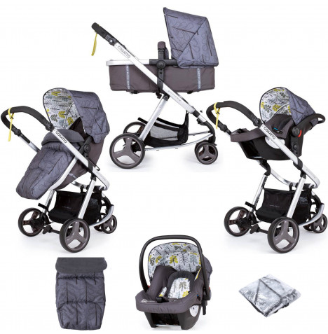 Cosatto Giggle Mix Pramette Travel System - Fika Forest