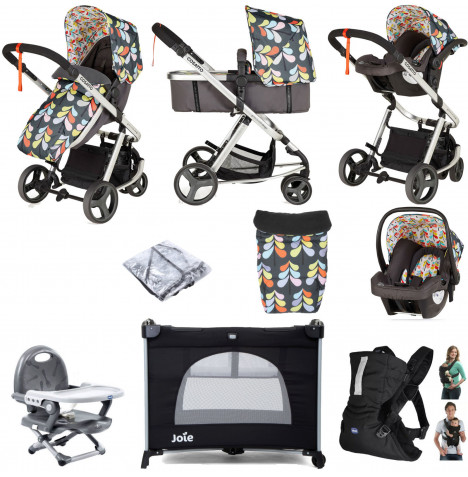 Cosatto Giggle Mix Pramette Everything You Need Travel System Bundle - Nordi