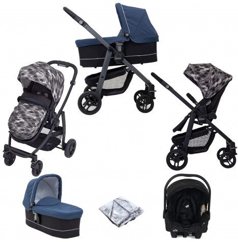 Graco Evo (Juva) Travel System with Carrycot - Camo
