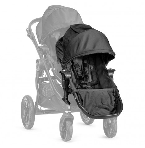 New Baby Jogger Select 2nd Seat With Adaptor - Black