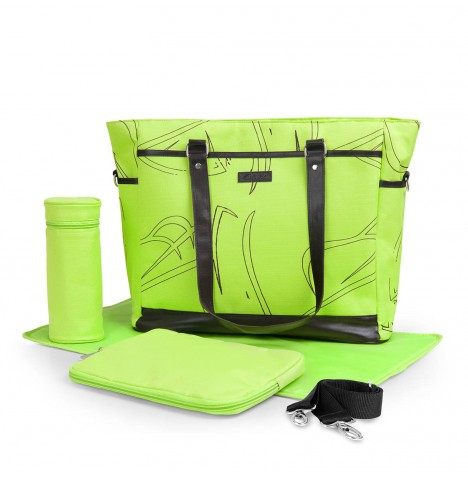 Hauck Sammy Changing Bag - Lime