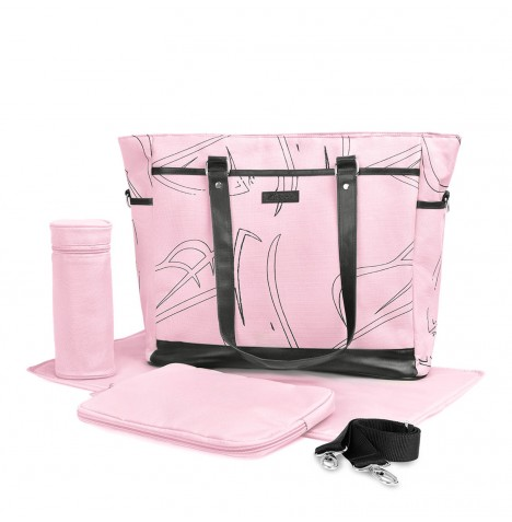 Hauck Sammy Changing Bag - Pink