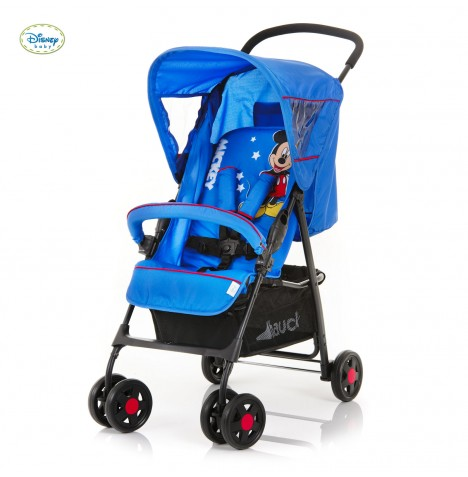 new hauck disney mickey mouse blue sport pushchair baby stroller childs buggy. Black Bedroom Furniture Sets. Home Design Ideas