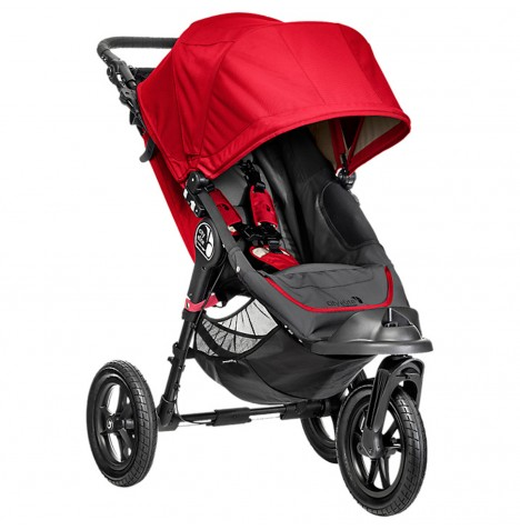 New Baby Jogger City Elite Single Stroller - Red