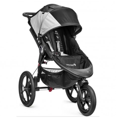 New Baby Jogger Summit X3 Single Stroller - Black / Grey