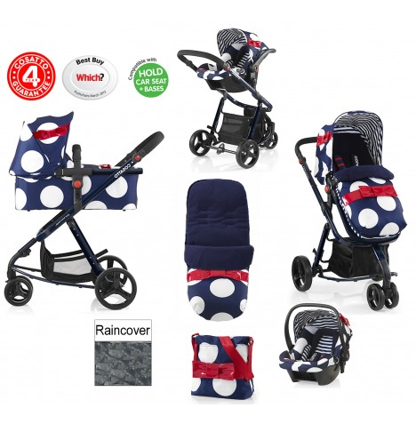 Cosatto Giggle 2 Combi 3 in 1 Travel System - Oh La La