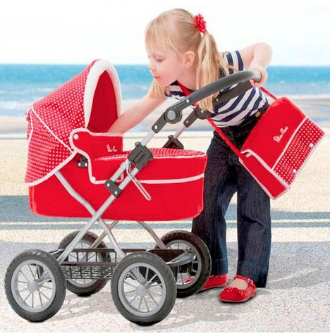 Silver Cross Ranger Dolls Pram - Poppy Domino