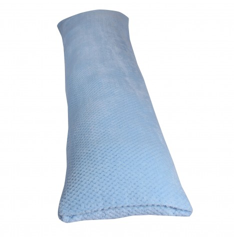 Clair De Lune Honeycomb Bolster Support Cushion - Blue