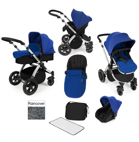ickle bubba Stomp V2 All In One Travel System - Blue