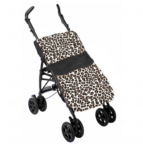 Clair De Lune Pushchair Footmuff - Wildcat Brown