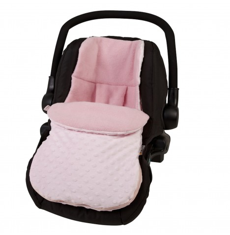 Clair De Lune CarSeat Footmuff - Dimple Pink