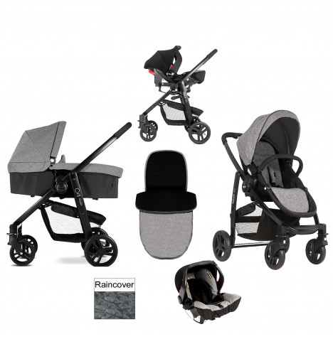Graco Evo 3 in 1 Carrycot Travel System - Slate