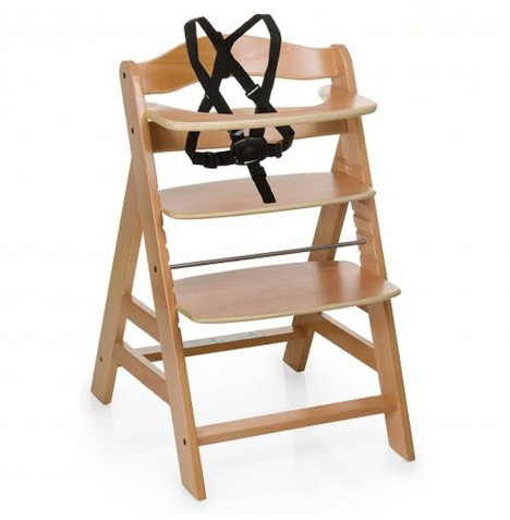 Hauck Alpha+ Grow With Your Child Wooden Highchair - Natural